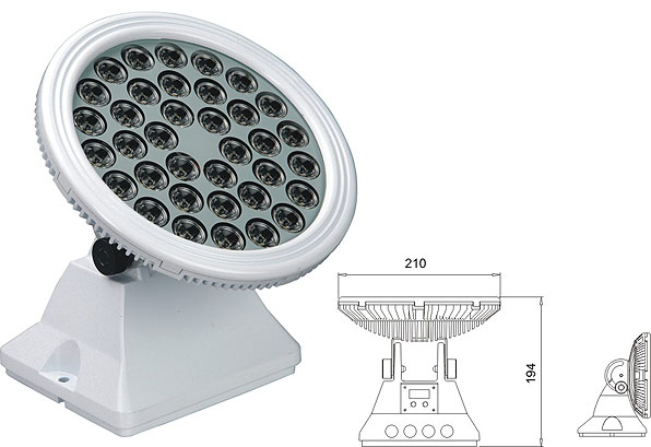 Zhongshan led factory,LED flood light,25W 48W Square waterproof LED wall washer 2, LWW-6-36P, KARNAR INTERNATIONAL GROUP LTD