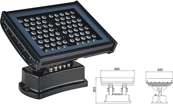 Guangdong vodio tvornicu,vodio svjetlo tunela,108W 216W Square LED zidna perača 2, LWW-7-72P, KARNAR INTERNATIONAL GROUP LTD