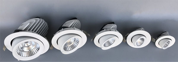 Guangdong led factory,LED down light,35w elephant trunk recessed Led downlight 1, ee, KARNAR INTERNATIONAL GROUP LTD