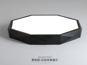 Guangdong vodio tvornicu,Boja makarona,15 W Hexagon je vodio stropnu svjetlost 2, blank, KARNAR INTERNATIONAL GROUP LTD