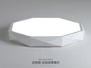 Guangdong led factory,LED project,12W Three-dimensional shape led ceiling light 5, white, KARNAR INTERNATIONAL GROUP LTD