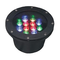 Guangdong led factory,LED underground light,36W Circular buried lights 5, 12x1W-180.60, KARNAR INTERNATIONAL GROUP LTD