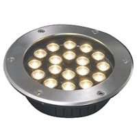 Guangdong led factory,LED underground light,36W Circular buried lights 6, 18x1W-250.60, KARNAR INTERNATIONAL GROUP LTD