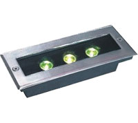 Guangdong led factory,LED buried light,6W Square Buried Light 6, 3x1w-120.85.55, KARNAR INTERNATIONAL GROUP LTD