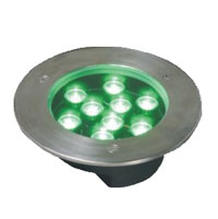 Guangdong led factory,LED buried light,6W Circular buried lights 4, 9x1W-160.60, KARNAR INTERNATIONAL GROUP LTD