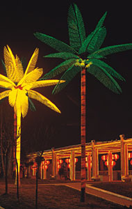 LED coconut palm tree light KARNAR INTERNATIONAL GROUP LTD