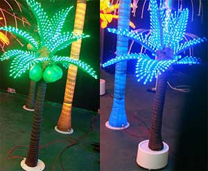 Lumière de paume de noix de coco de LED KARNAR INTERNATIONAL GROUP LTD
